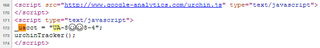 Проверьте правильность установки вашей аналитики.